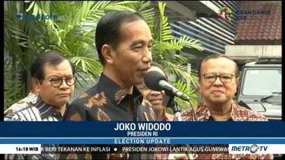 Bertemu KWI, Jokowi Bahas Pancasila dan Keberagaman