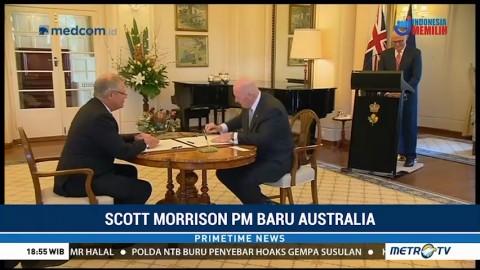 Scott Morrison Resmi Jabat PM Australia
