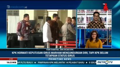 KPK Belum Tetapkan Secara Resmi Status Hukum Idrus Marham