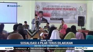 Wakil Ketua MPR Sosialisasi Empat Pilar Kebangsaan di Bogor
