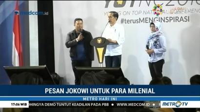 Pesan Jokowi untuk Milenial