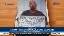 Jebol Plafon, 6 Tahanan Polres Ciamis Kabur