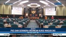 PKS dan Gerindra Berebut Kursi Wagub DKI Jakarta
