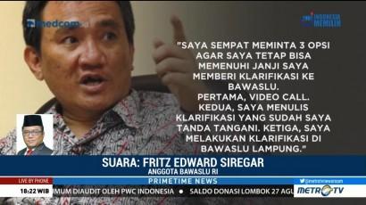 Andi Arief Kembali Mangkir, Bawaslu tak Punya Bukti Kuat soal Mahar Rp500 M