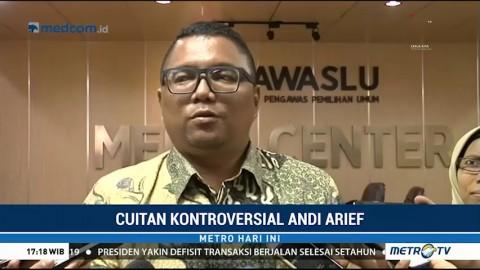 Andi Arief Mangkir dari Panggilan Bawaslu untuk Ketiga Kalinya