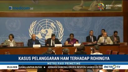 PBB Sebut Militer Myanmar Lakukan Genosida Terhadap Rohingya