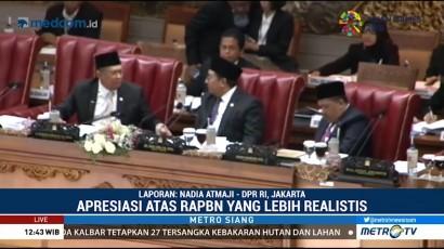 DPR Gelar Rapat Paripurna Membahas RAPBN 2019