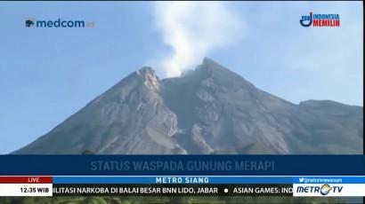 Volume Kubah Lava Merapi Telah Mencapai 40 Ribu Meter Kubik