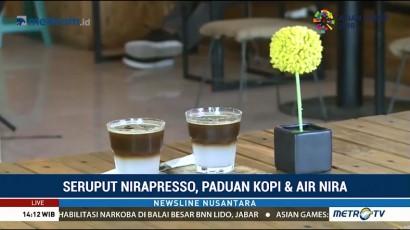 Nirapresso, Perpaduan Unik Kopi dan Air Nira