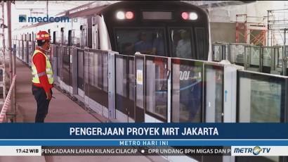 Pengerjaan MRT Jakarta Capai 95 Persen