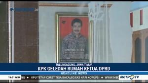 KPK Geledah Rumah Ketua DPRD Tulungagung