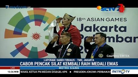 Pencak Silat Sumbang Tiga Medali Emas