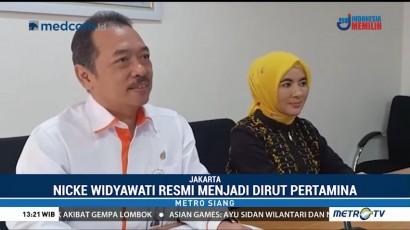 Nicke Widyawati Resmi Jabat Dirut Pertamina