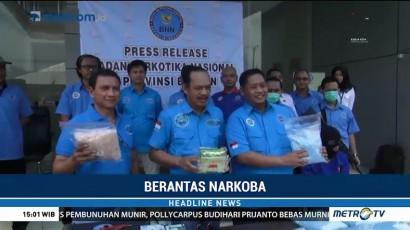 BNN Gagalkan Penyelundupan 7 Kg Sabu asal Malaysia
