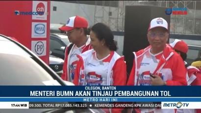 Menteri BUMN Pimpin Ekspedisi Tol Trans Sumatera