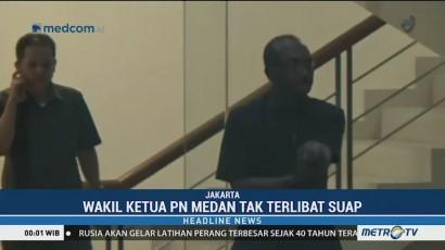 Wakil Ketua & Hakim Ad Hoc PN Medan Diperkenankan Pulang oleh KPK