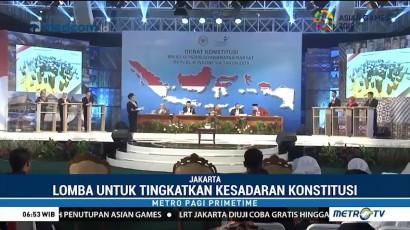Universitas Syiah Kuala Aceh Juara Lomba Debat Konstitusi MPR 2018