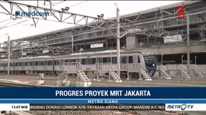 Hampir Rampung, Ini Penampakan MRT Jakarta Fase I