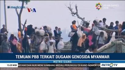 Temuan PBB Terkait Dugaan Genosida Myanmar