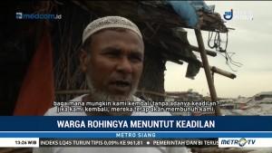 Warga Rohingya Berharap PBB Menghukum Pelaku Genosida