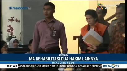 MA Nonaktifkan Hakim dan Panitera Pengganti PN Medan