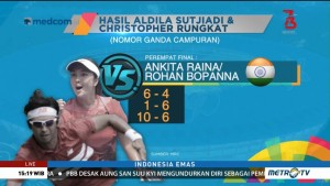 Christopher/Aldila Hapus Dahaga Emas Tenis (2)