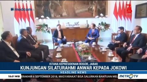 Jokowi Menerima Kunjungan Anwar Ibrahim