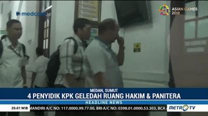 KPK Sita Sejumlah Berkas dari PN Medan