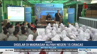 Tim Metro TV Berbagi Kunjungi MAN 15 Ciracas