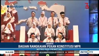 SMAN 1 Kota Metro Lampung Juara Lomba Cerdas Cermat 4 Pilar MPR