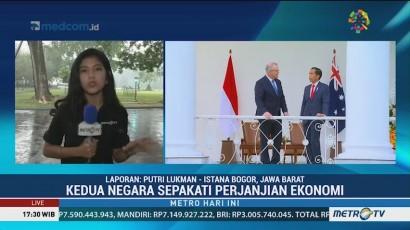 Jokowi Minum Teh Bersama PM Australia