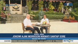 Jokowi Ajak PM Australia Cicipi Tahu Isi & Colenak