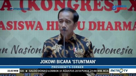 Jokowi Bicara <i>Stuntman</i>
