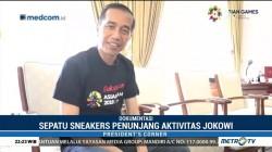 Mengintip Koleksi Sneakers Jokowi