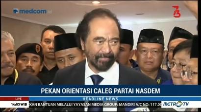 NasDem akan Totalitas Dukung Jokowi-Ma'ruf