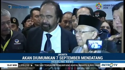 Ketua Timses Jokowi-Ma'ruf Diumumkan 7 September