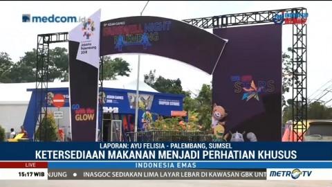 Suasana Jelang Penutupan Asian Games 2018 di Palembang