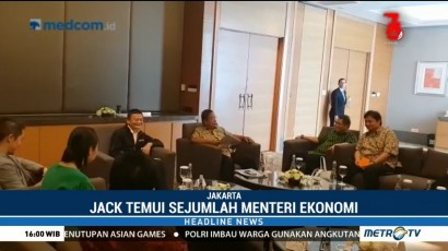 Jack Ma Temui Sejumlah Penjabat Ekonomi Indonesia