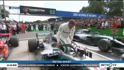 Hamilton Juara GP Italia