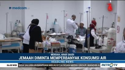 Batuk dan Gangguan Pernapasan Serang Sebagian Jemaah Haji