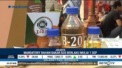 Peluncuran Mandatori B20 Dapat Menghemat Pengeluaran Negara