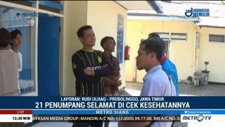 21 Korban Selamat KM Wahyu Ilahi Tiba di Probolinggo