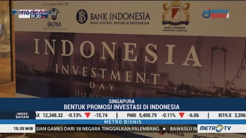 300 Investor Hadir di Indonesia Investment Day Singapura