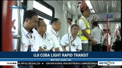 Menjajal LRT Jakarta