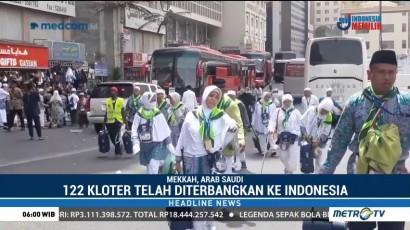122 Kloter Telah Diterbangkan ke Tanah Air