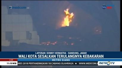 Ridwan Kamil akan Panggil Pengelola Terkait Kebakaran Pasar Gedebage