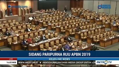 DPR Gelar Rapat Paripurna Bahas APBN 2019
