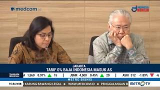 Baja dan Aluminium Indonesia Bebas Bea Masuk ke AS