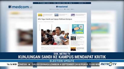 Sandiaga Uno Ditegur Terkait Politisasi Kampus