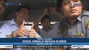 Dua Jurnalis Reuters Divonis Penjara di Myanmar